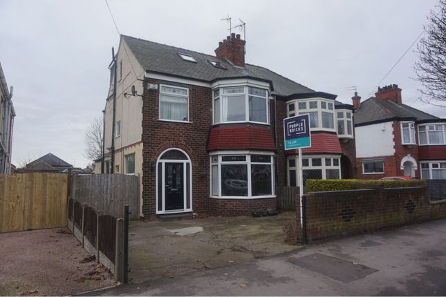 Thumbnail Semi-detached house to rent in Bricknell Avenue, Hull
