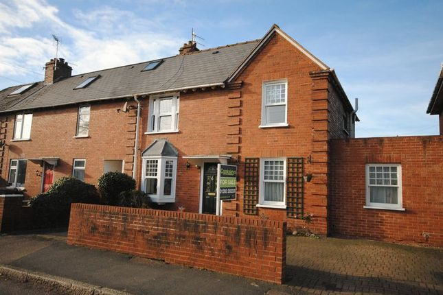 Thumbnail End terrace house for sale in Pinces Gardens, St. Thomas, Exeter