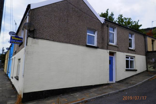 Thumbnail End terrace house for sale in Morris Street, Treherbert, Rhondda Cynon Taff.