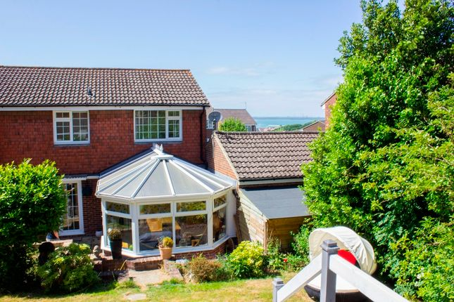 Thumbnail Link-detached house for sale in Glossop Close, East Cowes