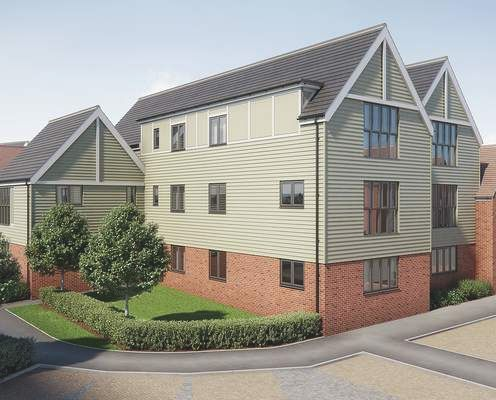 Thumbnail Flat for sale in Pilots View, Chatham, Kent