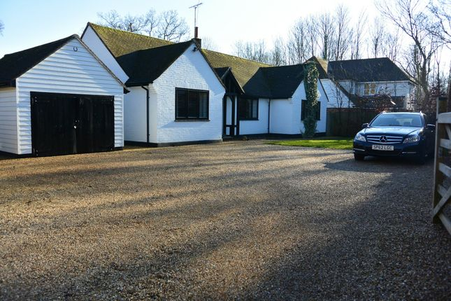 Thumbnail Detached bungalow for sale in The Grove, Pluckley