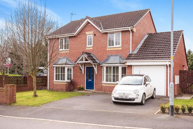 Thumbnail Detached house for sale in Park Farm Gardens, South Kirkby, Pontefract