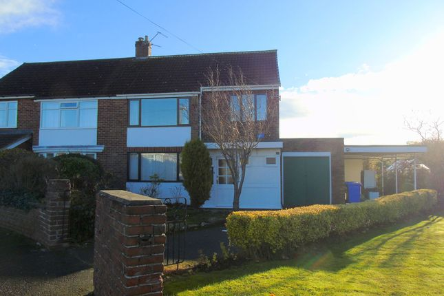 Thumbnail Semi-detached house for sale in Priors Walk, Morpeth