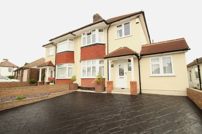Thumbnail 4 bed semi-detached house for sale in Kynaston Road, Orpington
