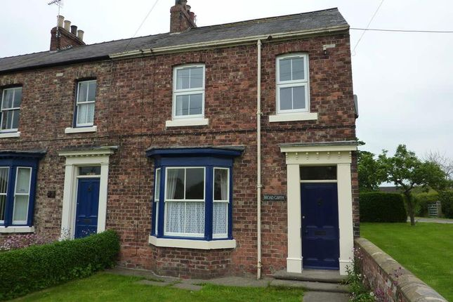 3 bed terraced house to rent in Morton On Swale, Northallerton