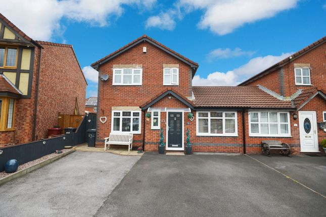 Thumbnail Link-detached house for sale in Leeward Close, Lower Darwen, Darwen