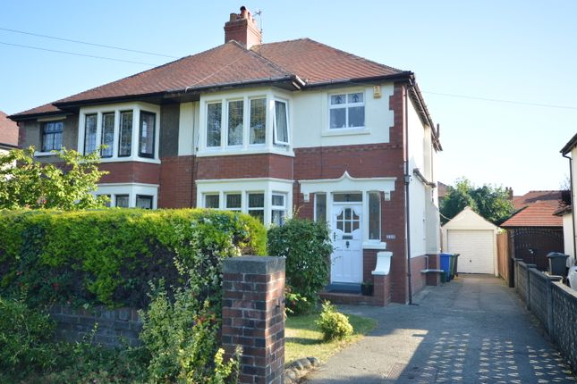 Thumbnail Semi-detached house for sale in Victoria Road West, Thornton-Cleveleys