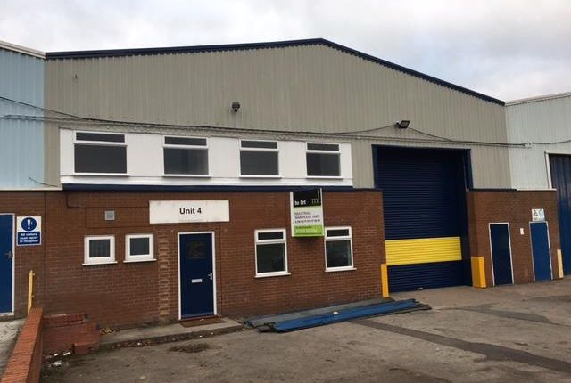 Thumbnail Industrial to let in Unit 4 Walton Industrial Estate, Walton Industrial Estate, Beacon Road, Stone