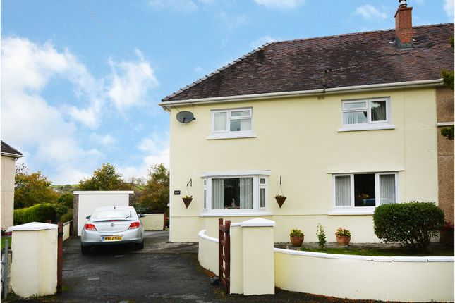 3 bed semi-detached house for sale in Heol Afallon, Drefach, Llanelli SA14