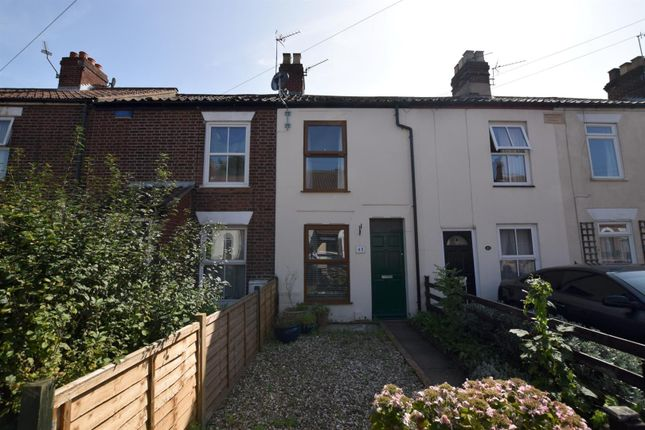 3 bed terraced house for sale in Quebec Road, Norwich