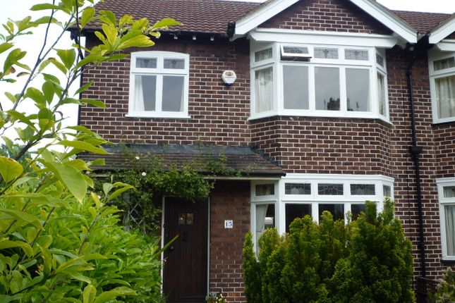 Thumbnail Semi-detached house to rent in Woodhey Road, Bebington, Wirral