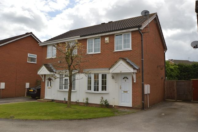 Thumbnail Semi-detached house to rent in Thirlmere, Stukeley Meadows, Huntingdon, Cambridgeshire