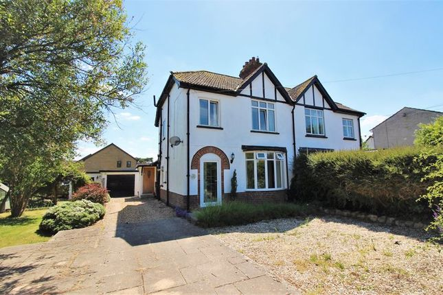 Thumbnail Semi-detached house for sale in Hanning Road, Horton, Near Ilminster