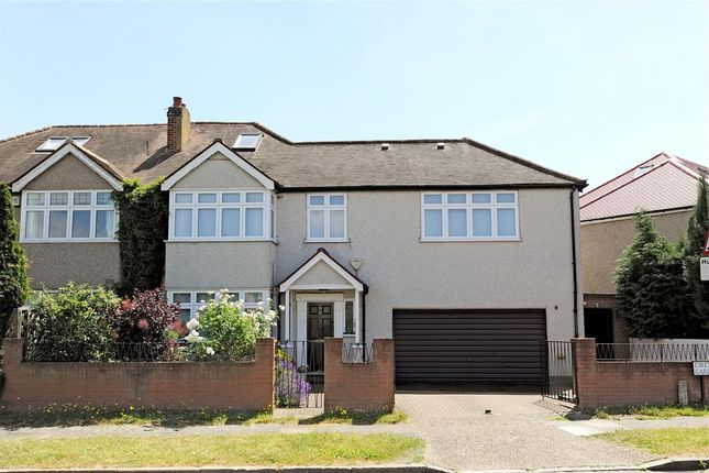 Thumbnail Semi-detached house for sale in Circle Gardens, London