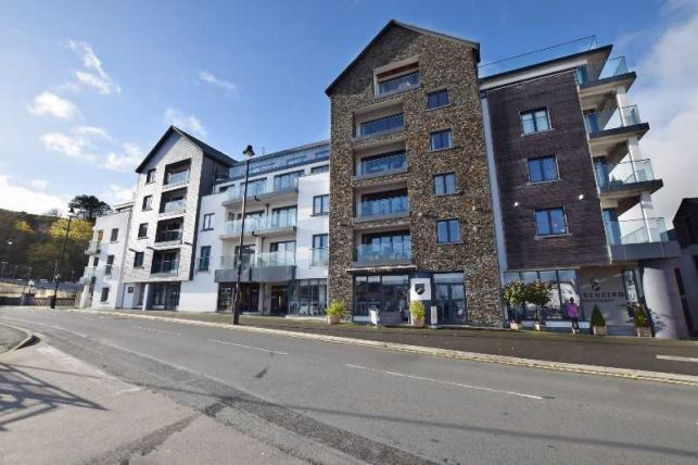 Thumbnail Flat for sale in Quay West Apartments, Bridge Road, Douglas