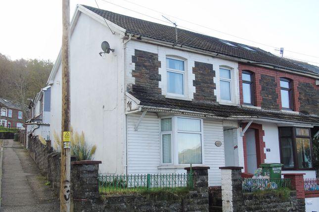 Thumbnail End terrace house for sale in Graig Avenue, Graig, Pontypridd