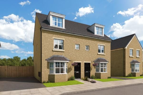 "Thumbnail Property for sale in ""The Rathmell At Highgrove Place"" at Accrington Road, Burnley"