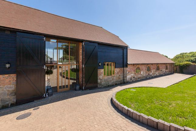 Thumbnail Barn conversion for sale in Fairlight Place, Fairlight, Hastings
