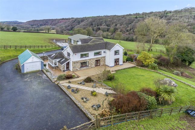 Thumbnail Detached house for sale in Glanduad Fach, Velindre, Crymych, Pembrokeshire
