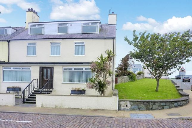 Thumbnail Semi-detached house for sale in Marine Square, Holyhead, Anglesey