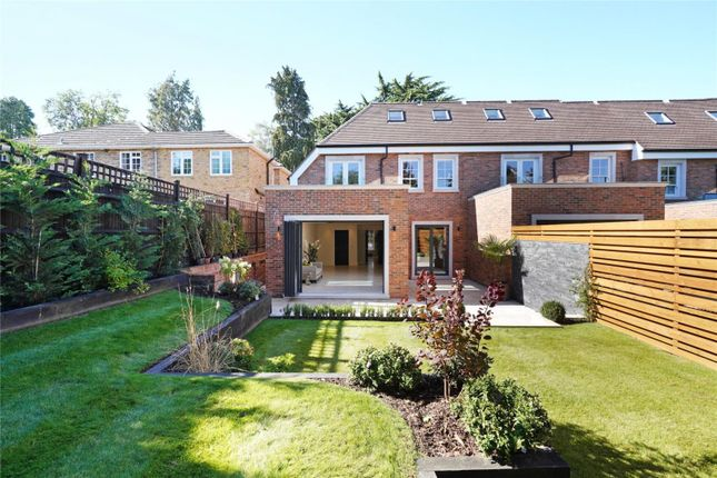 Thumbnail End terrace house for sale in Cavendish Road, Weybridge, Surrey