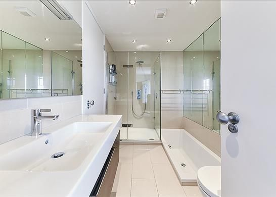 Bathroom of Walham Court, Belsize Park, London NW3