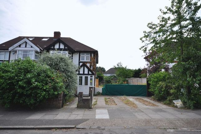 Thumbnail Land for sale in Rivermeads Avenue, Twickenham