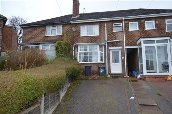 Thumbnail Terraced house for sale in Melcote Grove, Great Barr, Birmingham