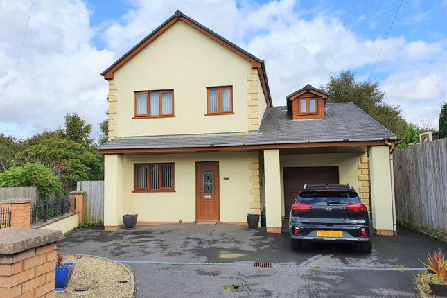 Thumbnail 4 bed detached house for sale in Tawe Road, Llansamlet, Swansea