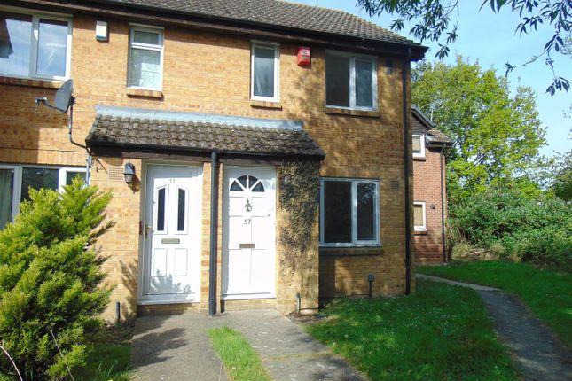 Thumbnail End terrace house to rent in Braemar Gardens, Cippenham, Slough