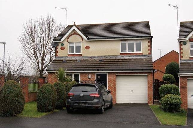 Thumbnail Detached house to rent in Langton Drive, Cramlington