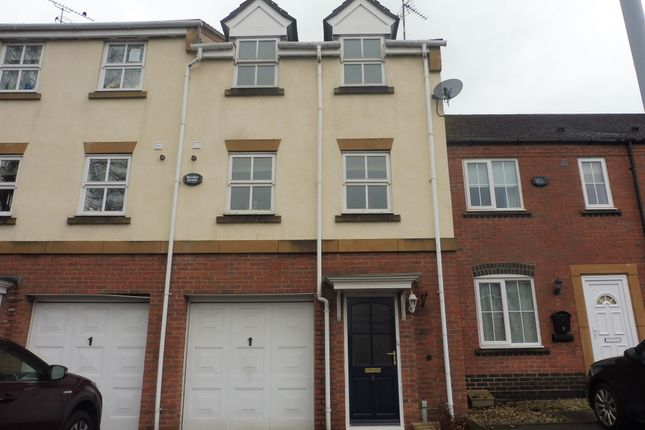 Thumbnail Town house for sale in Halford Grove, Hatton Park, Warwick