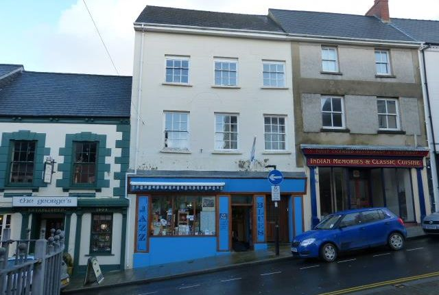 Thumbnail Terraced house for sale in Market Street, Haverfordwest, Pembrokeshire