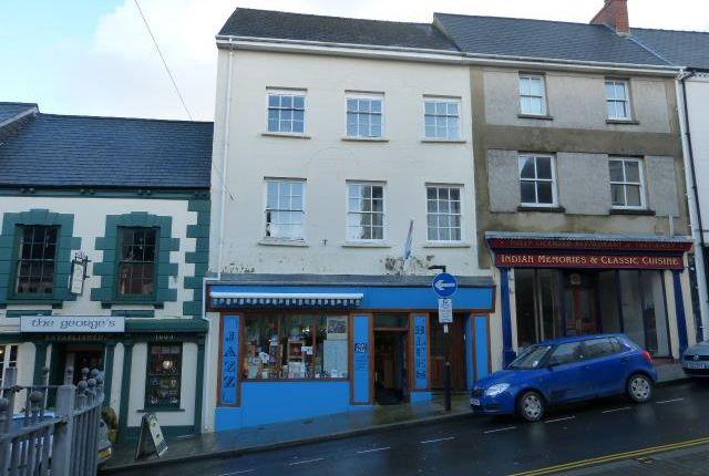 Thumbnail Retail premises for sale in Music Shop & Flats, Market Street, Haverfordwest, Pembrokeshire