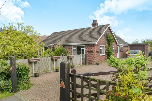 Thumbnail Detached bungalow for sale in Chapel Road, Foxley, Dereham