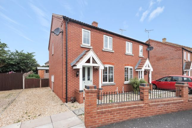 2 bed semi-detached house for sale in Falcon Way, Sleaford NG34