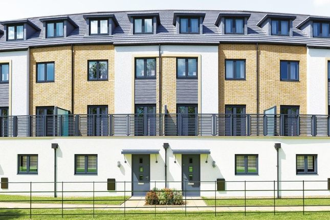 Thumbnail End terrace house for sale in Belland Hill, Eynesbury, St. Neots