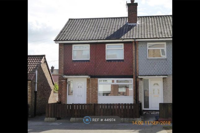 Thumbnail End terrace house to rent in Donnington Green, Middlesbrough