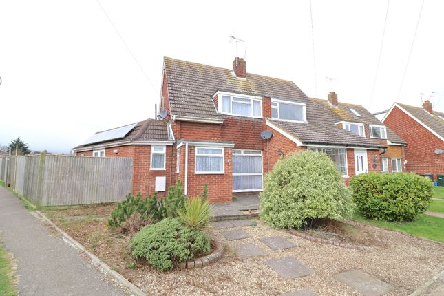 Thumbnail Semi-detached house for sale in Farmlands Close, Polegate