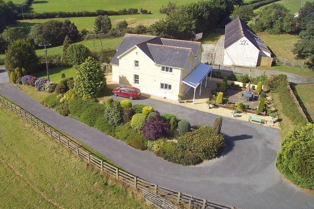 Thumbnail Farmhouse for sale in Goitre Isaf, Trawsmawr, Carmarthen