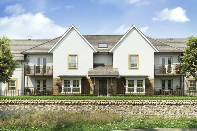 "Thumbnail Flat for sale in ""Foxton"" at Kergilliack Road, Falmouth"