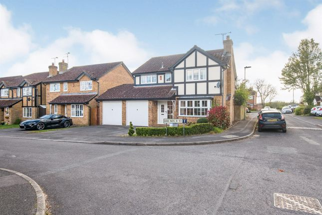 Thumbnail Detached house for sale in Templecombe Road, Bishopstoke, Eastleigh
