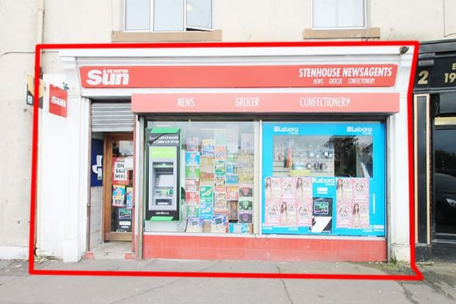 Thumbnail Commercial property for sale in 1, Stenhouse Cross, Edinburgh EH113Jy