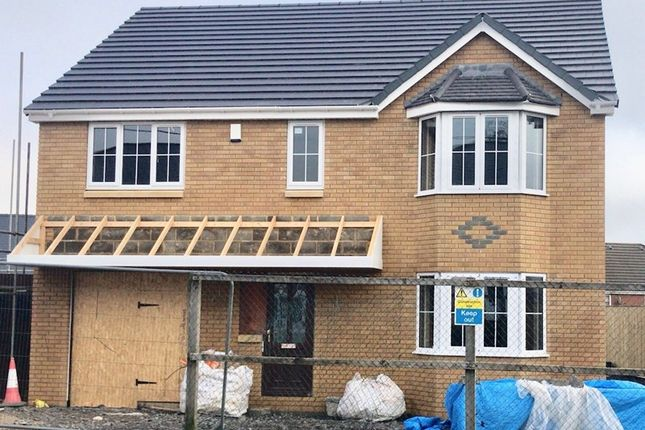 Thumbnail 4 bed detached house for sale in Sycamore Avenue, Tredegar