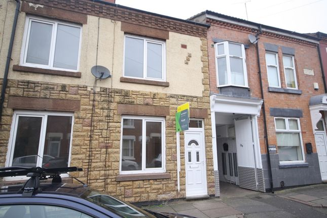Thumbnail Terraced house to rent in Cecilia Road, Clarendon Park, Leicester