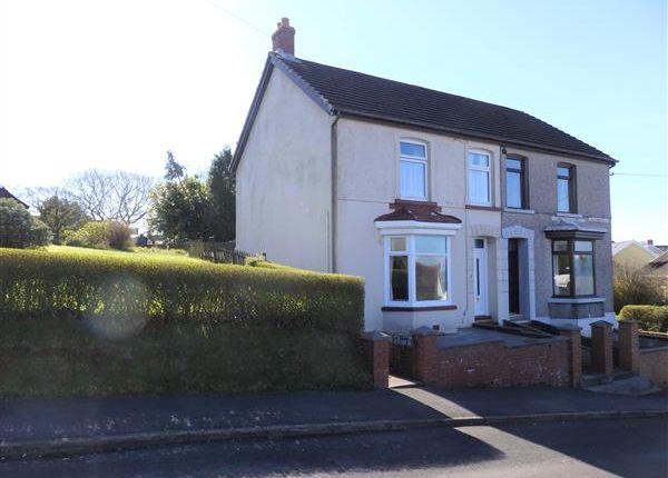 Thumbnail Semi-detached house for sale in Singleton Road, Tumble, Llanelli