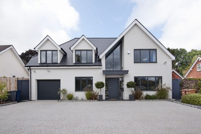 Thumbnail Detached house for sale in Abbots Ride, Farnham