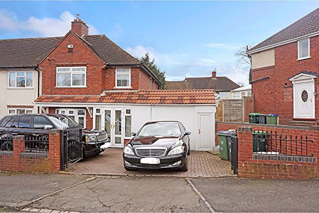 Thumbnail End terrace house for sale in Pheasant Road, Smethwick