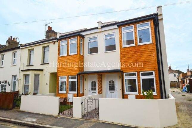 Thumbnail End terrace house for sale in Seaview Road, Southend-On-Sea, Essex
